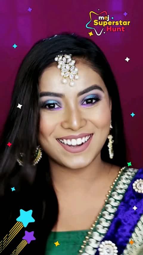Meet our next #FashionBeautySuperstar finalist - @sushmita17 and watch her final performance! @remodsouza @awezdarbar \n#MojSuperstarHunt